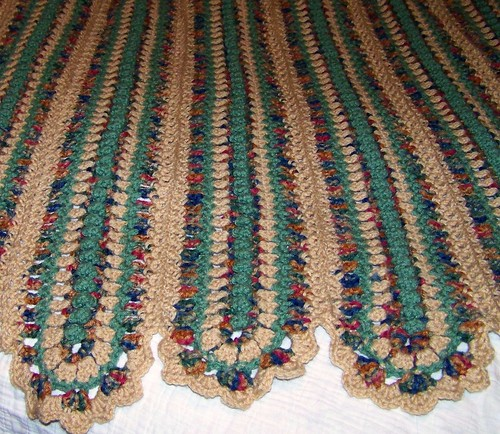 Crochet Attic: Crochet-Mile-A-Minute Afghan