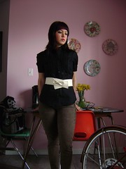 Wednesday's Child (Swallowtailed) Tags: me kitchen outfit clothing nadia clothes