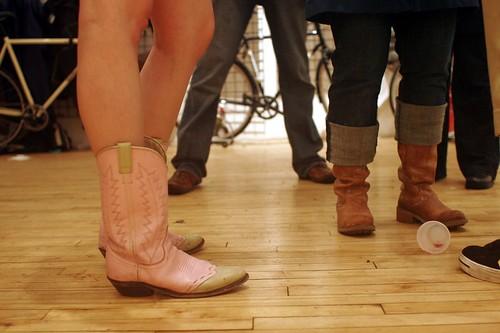 Heidi's boots