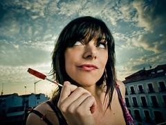 Sarah (Thomas Cristofoletti's stock photography) Tags: madrid sarah strobes e510 1260 myfavoritephoto expomario