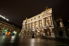 Opra National de Paris (Craigyc) Tags: longexposure paris france opera nightshot phantom d90 sigma1020 opranationaldeparis nikond90