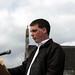 ballymacnab easter 2009 (109) Councillor Darren McNally readin Proclamation