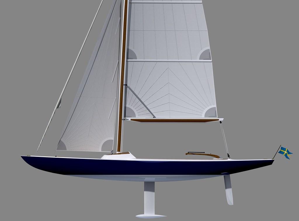 NEW!  Scandinavian Cruiser 20 - Classic One-Design Day Boat