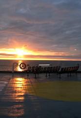 Aquatic Sun Set