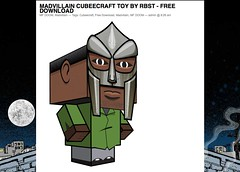 Rappcats » Madvillain Cubeecraft Toy by RBST - Free Download_1239959441626
