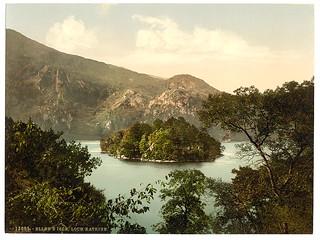 [Ellen's Isle, Loch Katrine, Trossachs, Scotla...
