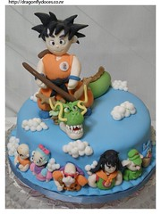 Dragon Ball cake/ Bolo Dragon Ball (Dragonfly Doces)