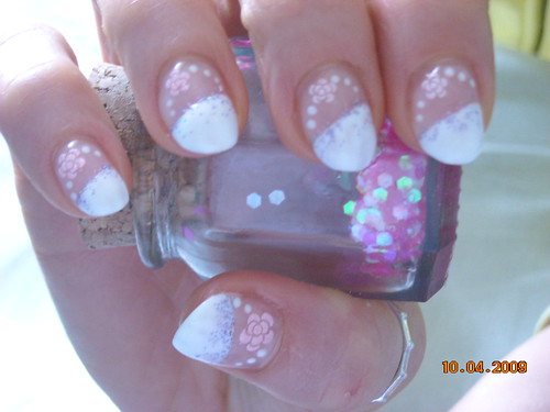 nail Flowers ramona pink roses nails art designs nail art designs gallery