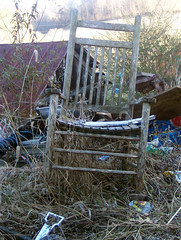 old rockin chair (bernay07) Tags: wood old wooden chair junk rocking
