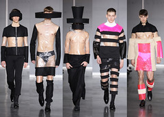 Romain Kremer A/W 2009 (Fashion Clipping) Tags: show winter fall fashion style romain 2009 kremer menswear romainkremer