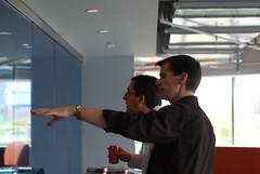 Chris Bowen and Igor Moochnick at North East User Group Leader Summit (Rachel Ford James) Tags: cambridge oreilly community massachusetts event microsoft kendall leadership ug unconference chrisbowen igormoochnick neugls northeastusergroupleadersummit msnewengland microsoftnewenglandresearchanddevelopment oreillymediainc