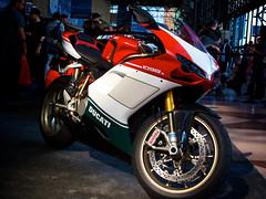 Ducati 1098S Tricolore (Christopher·) Tags: bike sport canon italian super powershot motorcycle ducati duc supersport tricolore aperature 1098 g10 1098s