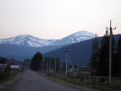 Mountain Hoverla