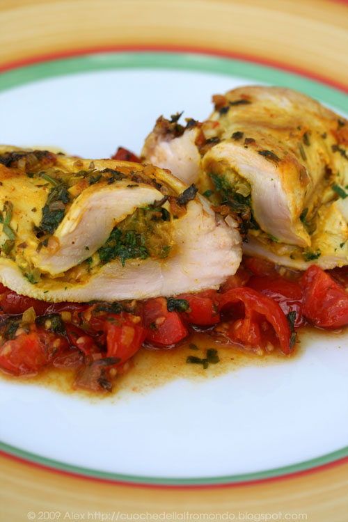 Pollo in chermoula