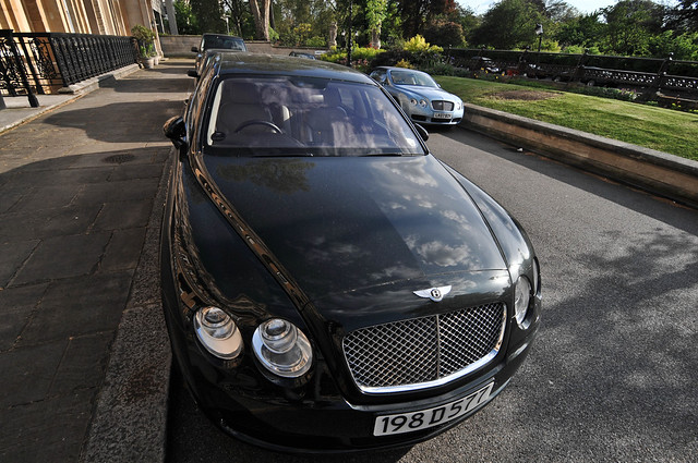 london bentley continentalflyingspur