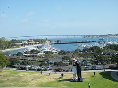 View from the USS Midway