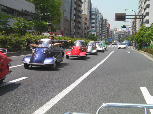 BubbleCar Meeting in Tokyo Japan [May. 09. 2009]