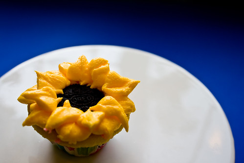 Sunflower Cupcake | Utah Loves Cupcakes