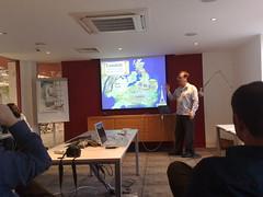Simon Johnson of Flow interactive, UX Brighton