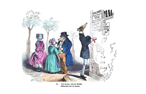 017-Les métamorphoses du jour (1869)-J.J Grandville