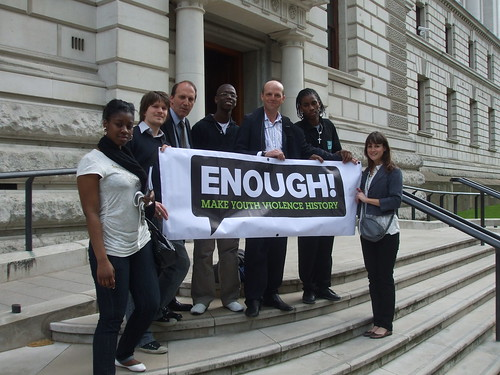 Simon Hughes MP and Make Youth Violence History