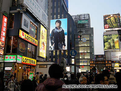 Lots of giant billboards everywhere
