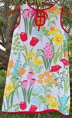 Orange Embroidered Back