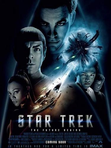 Affiche du film STAR TREK