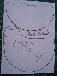 Molde pega panela by marcia's patch