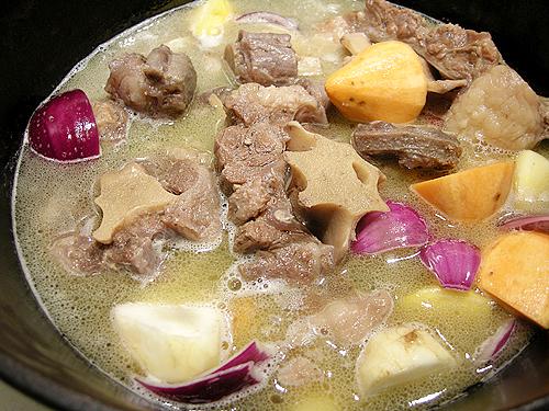 清燉牛尾湯-090526