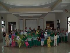 Kegiatan Belajar Mengajar di Taman Pendidikan Al-Qur'an Masjid Al-Mujahidin