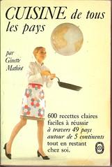 Cuisine de Tous Les Pays - Livre De Poche book cover (Covers etc) Tags: france cooking girl french legs paperback bookcover 1960s cookery livredepoche