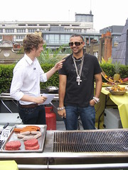 BBQ with Sean Paul and Matt Edmondson on Pocket TV (Pocket TV) Tags: tv bbq seanpaul pockettv mattedmondson