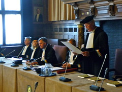 Robert Bestowing Doctorate by Ton Zijlstra