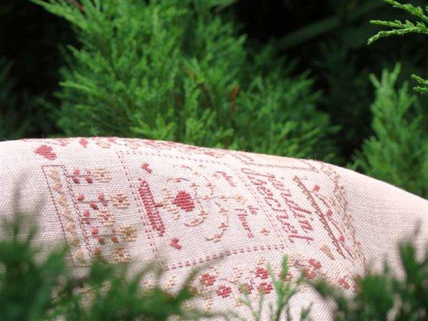 Coeur de lin. Jardin secret
