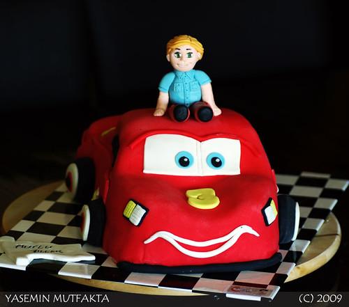 Şimşek McQueen ve Batu / Lightning McQueen and Batu Cake