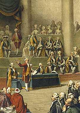 Ouverture des états généraux à Versailles