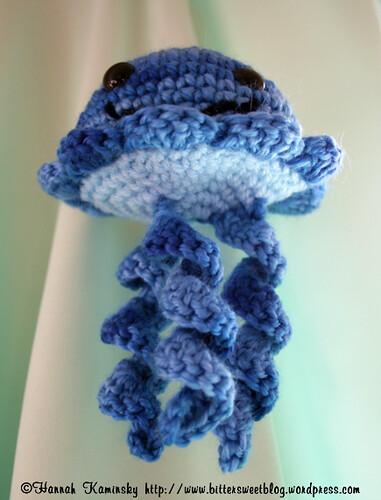 Knitting Pattern For Jellyfish : Jellyfish Free Crochet Pattern from the Amigurumi Free Crochet Patterns Categ...