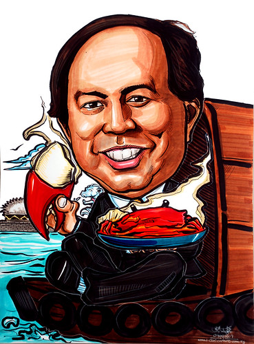 Caricature for Black & Veatch