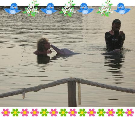minah salleh cium dolphin