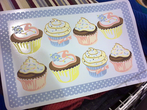 cupcake place mat