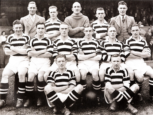 Manchester United 1934/35 team photograph