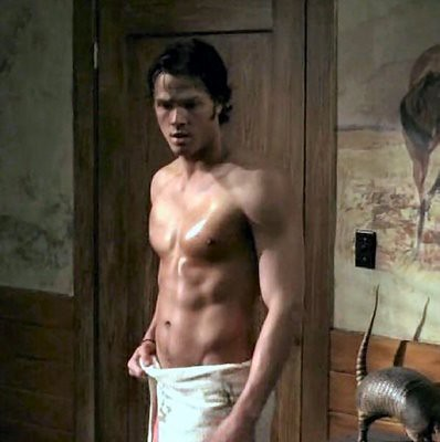 sam shirtless by you.