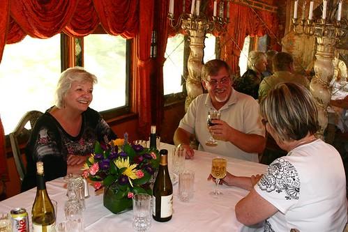 Private Rail Car Virginia City - dining table 2