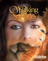 walkingHigher (gwennie2006) Tags: orange woman yellow poster typography graphicdesign lion mountmonadnock dcmemorialfoundation castlesun3 pictures1b castlesunproductions