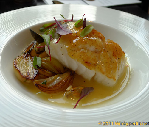 Cod in Cider at Dinner by Heston