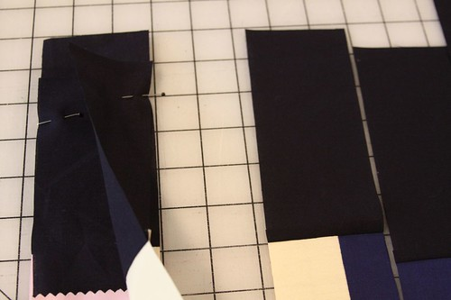 How to make a recycled quilt square, How to make the Joyal # 22 Block