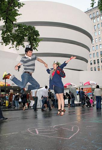 Guggenheim jumping