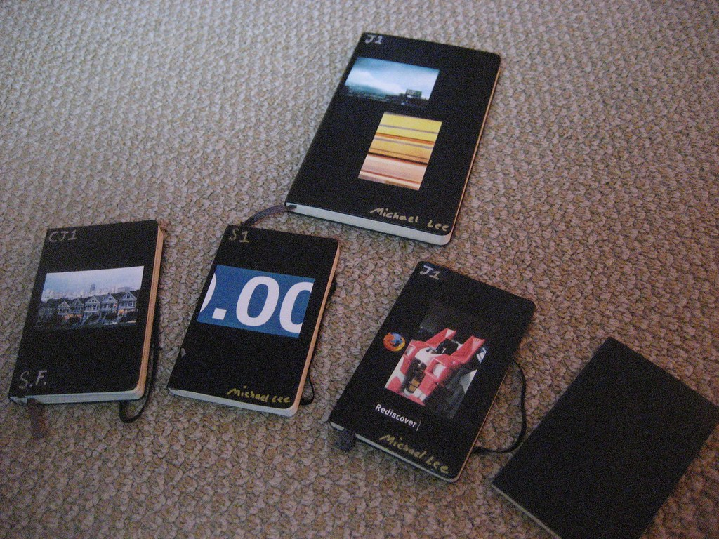 My Moleskine Collection