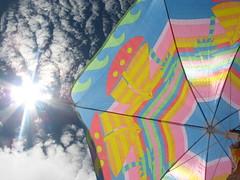 Ella, Ella, Ella (advertisingelyse) Tags: brazil sun beach umbrella ubatuba beachumbrella